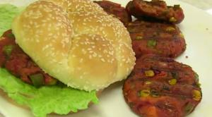 Vegetable Masala Burger