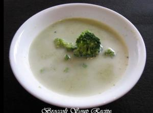 Hot Broccoli Soup