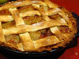Brown Sugar Peach Pie