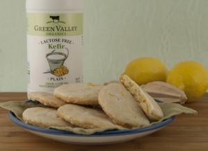 Lemon Kefir Cookies