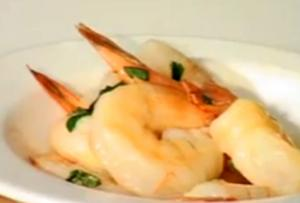 Prawns in Mild Garlic Sauce