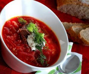 Volhynian Beet Soup