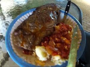 Bloodbeast's Pap en Sous & Braai (Porridge and Sauce/Gravy w/ Barbeque)