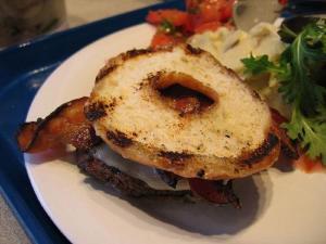 Sausage Cheese Burgers