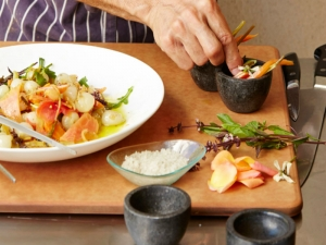 Vegetable Escabeche and Pickling Tips from Jordan Winery's Chef