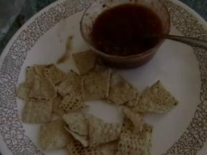 Mexican Cooked Salsa At Home & Quick Nachos