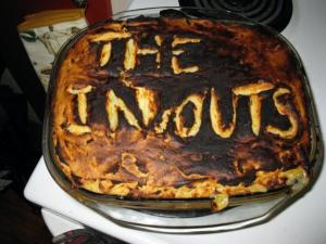 The In & Outs' Shepherd's Pie.... no, it's not a burger!