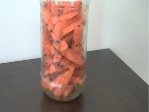 How to Make Instant Carrot Pickle / Gajar Ka Achaar
