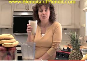 Vanilla and Cashew Anti Aging Blended Smoothie