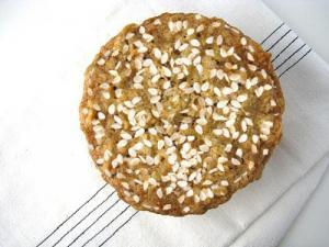 Oatmeal Sesame Cookies