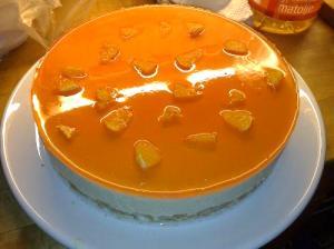 Orange Glazed Cheesecake