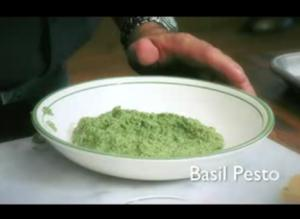 Basil and Walnut Pesto
