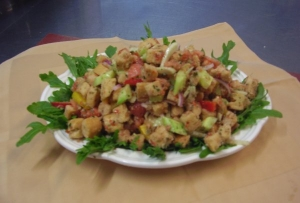 Panzanella or Bread Salad