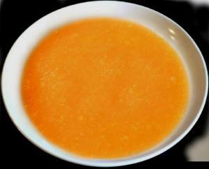 Cold Cantaloupe Soup