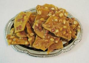 Microwaved Peanut Brittle