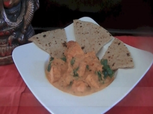 Butter Tofu Curry (Indian Vegetarian Food)