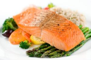Baked Salmon With Italian Seasoning