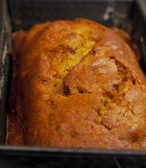 Pumpkin Pecan Tea Loaf