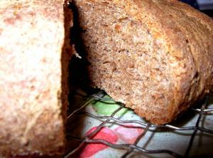 Moist Bran Bread