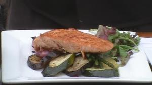 Wild Salmon Midori prepared by Chef Gio Calapai on Bella Cucina