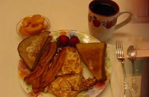 Morning Special Fried Egg Breakfast