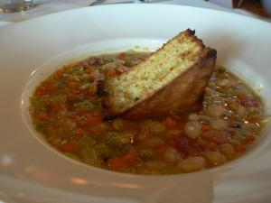 Ham Bone Summer Soup