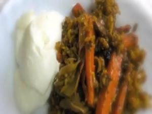Rice and Carrots- مقلوبة جزر