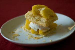 Quick Peach Shortcakes