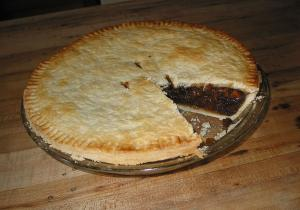Mincemeat Peach Pie