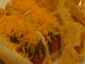 Betty's Husband Rick Makes Cincinnati Style Hot Dogs -- 4th of July