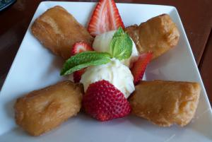 Fresh Fruit Fritters