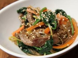 Korean Stirfried Noodle- Japchae