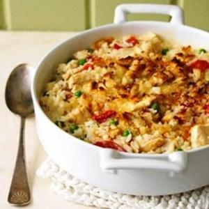 Chili N Rice Casserole