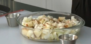 Roast Potatoes and Onions