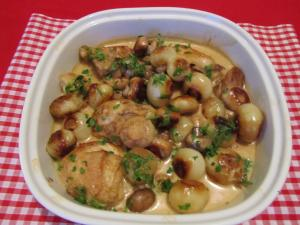 Spiced Chicken Fricassee