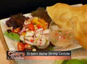 The Chef's Kitchen-Striper's Shrimp Ceviche