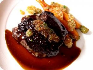 Baked Beef Tongue With Barbecue Sauce