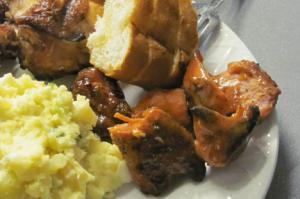 Bbq Chicken Thighs & Smoked Tasso