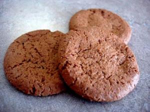 Baked Ginger Snaps