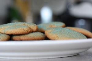 Sugar Crusted Cookies