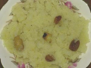 Dry Fruit Sojji Halwa
