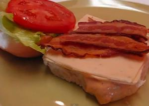 Bacon Sandwich  with Chipotle Mayonnaise and Monterey Jack Cheese
