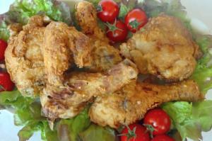 Crispy Homemade Southern Fried Chicken