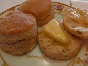 Betty's Cream Cheese-Chive Biscuits