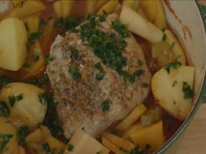 Italian Pork Pot Roast with Vegetables