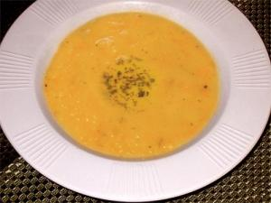 Cream Of Carrot And Potato Soup