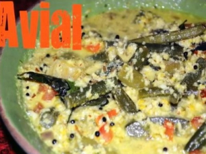 Avial - Kerala Mixed Vegetable Curry