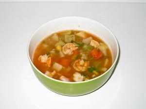 Caldo de Camarón (Shrimp Soup)