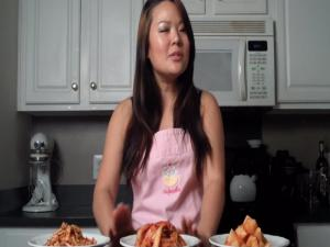 Korean Food Radish Kimchi