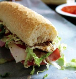Po-Boy Sandwich